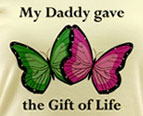 Daddy Gave the Gift of Life