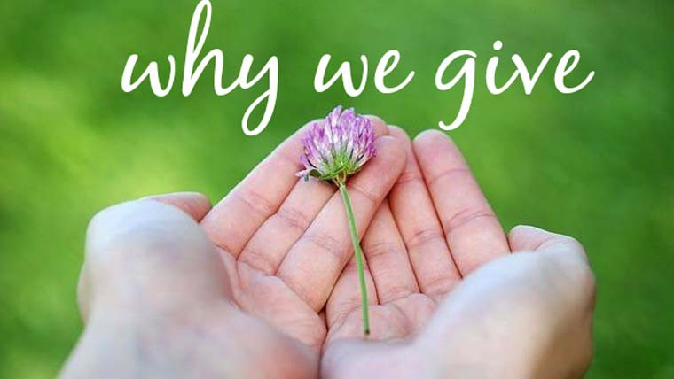 Why We Give Back to Charity